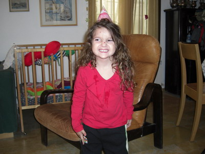 Maayan 5th birthday