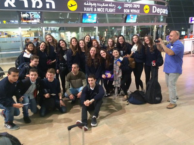 Lior at aport to USA