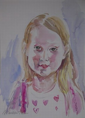 portrait by Maureen Fain