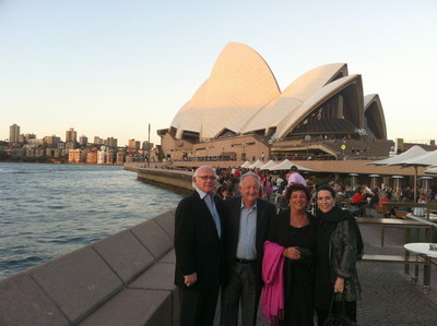With the Hakims at Sydney Opera
