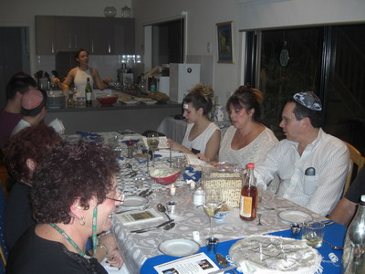 at the 2nd seder