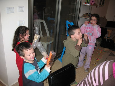 Maayan's 4th birthday party