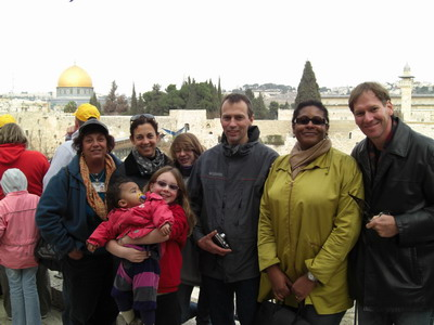 The Rons and Rasmussens in Jerusalem