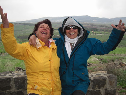 Doreen and Louise visit the Golan